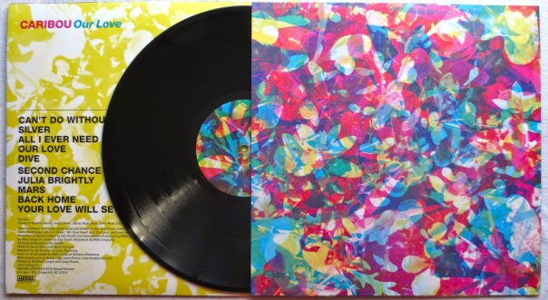 Caribou 2014 Our Love LP Vinyl Record Album 3
